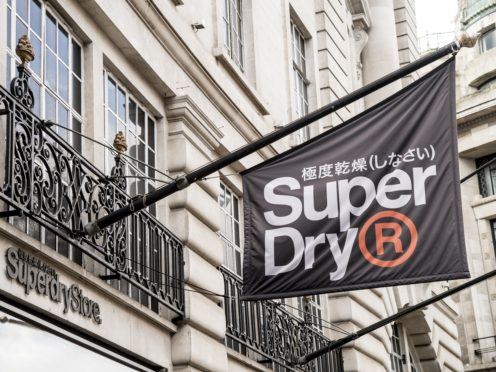 Super Dry saw sales return to growth in the quarter to April (Ian West/PA)
