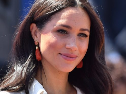 The Duchess of Sussex (Dominic Lipinski/PA)