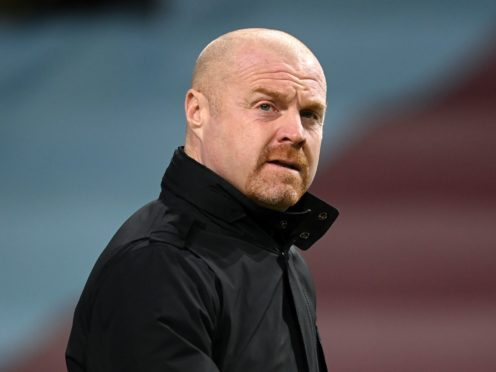 Sean Dyche welcomes the prospect of fans returning to stadiums (Michael Regan/PA)