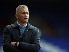 Keith Curle's Oldham are 18th in the League Two table (Martin Rickett/PA).