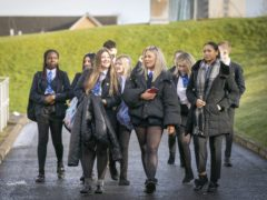 Secondary school pupils will reportedly be offered Covid-19 vaccinations from September under plans being developed by the NHS (Jane Barlow/PA)