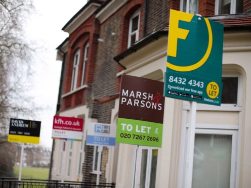 Tenant demand was found to be strongest in Wales, a survey found (Yui Mok/PA)