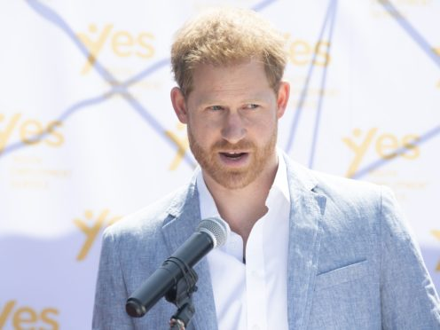 The Duke of Sussex spoke to a range of experts on the show (Facundo Arrizabalaga/PA)