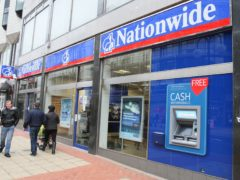 Nationwide Building Society enjoyed a strong boost in profits during the pandemic (Paul Faith/PA)