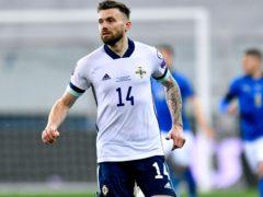 Stuart Dallas is in contention to captain Northern Ireland on Sunday (Alessio Marini/PA)