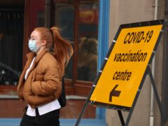 Moray had a coronavirus case rate of 81.4 per 100,000 people over the last seven days (PA)