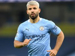 Sergio Aguero is set to make his final appearance for Manchester City at the Etihad Stadium this weekend (Michael Regan/PA)