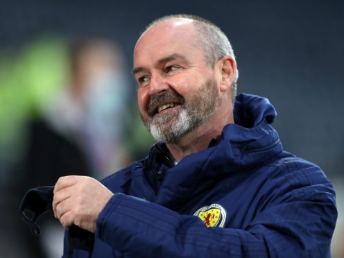Steve Clarke's squad have begun their journey (Andrew Milligan/PA)