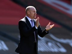 Sean Dyche has praised the mentality of his Burnley players as they close on Premier League safety (Glyn Kirk/PA)