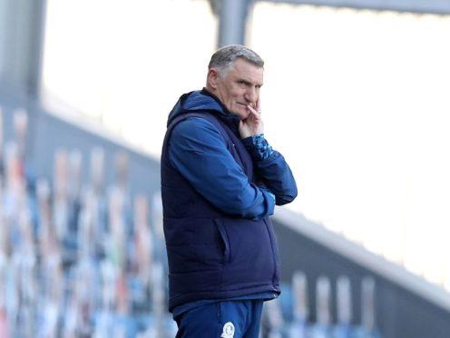 Blackburn manager Tony Mowbray has some injury concerns (Martin Rickett/PA)