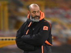 Nuno Espirito Santo is leaving Wolves at the end of the season (Michael Regan/PA)