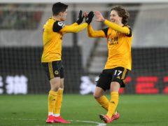 Fabio Silva, right, is determined to succeed at Wolves (Nick Potts/PA)