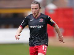 Matt Jay's goal was not enough for Exeter (Zac Goodwin/PA)