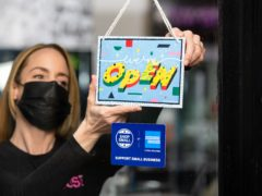 Britain's small businesses are predicting second quarter sales to rebound at the fastest pace since before the pandemic struck (David Parry/PA)