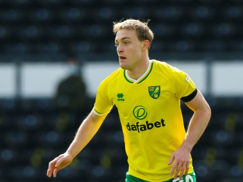 Oliver Skipp, who is on loan at Norwich from Tottenham, has undergone surgery on a fractured metatarsal (Barrington Coombs/PA)