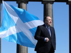 The former first minister said Alba's position was for the country to pay no share of national debt (Andrew Milligan/PA)