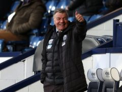 Sam Allardyce believes his future will be resolved quickly once West Brom's Premier League fate is known (Michael Steele/PA)