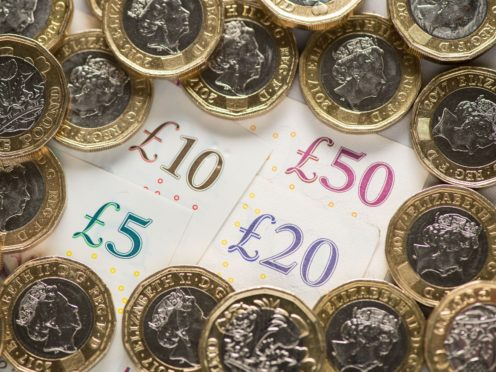 Soaring pound sends internationally-focused FTSE down (Dominic Lipinski/PA)