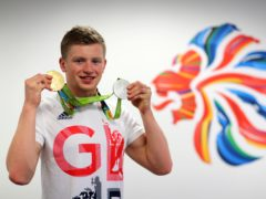 British athletes including Adam Peaty have been guaranteed vaccines prior to the Tokyo Olympics (Owen Humphreys/PA)