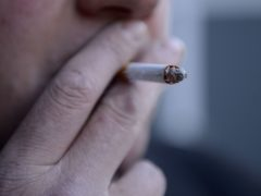 Global data estimates nearly eight million deaths from smoking in 2019 (Jonathan Brady/PA)
