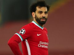 Mohamed Salah says nobody at Liverpool has discussed a contract extension with him (Peter Byrne/PA)