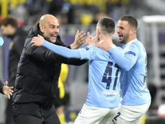 Manchester City have reached the Champions League final for the first time (PA Wire via DPA)