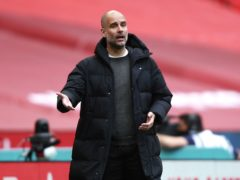 Pep Guardiola is hoping to steer Manchester City into their first Champions League final (Ian Waltonl/PA)