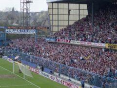 The West Terrace of Hillsborough stadium (IOPC/PA)