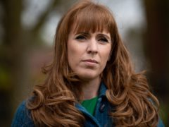 Deputy Labour leader Angela Rayner has been sacked as chairman of the party (Jacob King/PA)