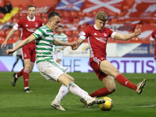 Celtic's David Turnbull is keen for Scotland Euro call-up (Jane Barlow/PA)