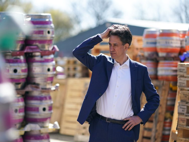 Shadow business secretary Ed Miliband has said Labour needs to be 'bolder' but Sir Keir Starmer should be given time to rebuild the party's support (Ian Forsyth/PA)