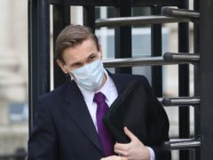Television presenter Dr Christian Jessen during an earlier appearance at Belfast High Court (Peter Morrison/PA)