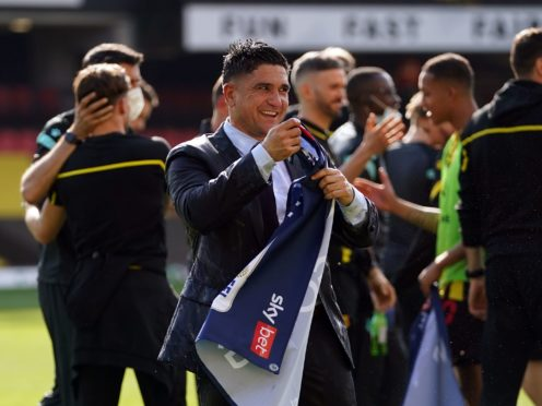 Xisco Munoz helped Watford bounce back from relegation at the first time of asking (Tess Derry/PA)