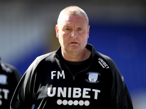 Frankie McAvoy has been named the permanent boss of Preston (Bradley Collyer/PA)