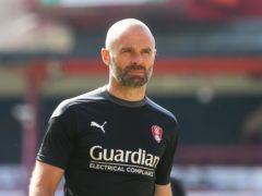 Paul Warne's Rotherham have taken their survival bid to the final round (Isaac Parkin/PA)