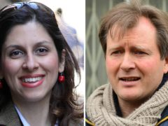 Nazanin Zaghari-Ratcliffe and her husband Richard Ratcliffe (Family Handout/PA)