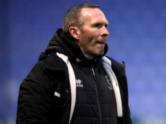 Lincoln manager Michael Appleton demanded more from his players at the Stadium of Light (Nick Potts/PA)
