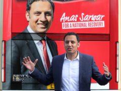 Scottish Labour leader Anas Sarwar said his party's glory days seem far away (Andrew Milligan/PA)
