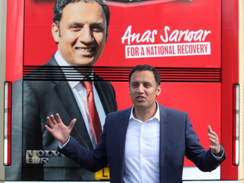 Scottish Labour leader Anas Sarwar said his party's glory days seem far away (Andrew Milligan/PA)