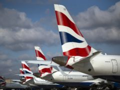 Data from flights operated by British Airways and American Airlines was used in the trial (Victoria Jones/PA)