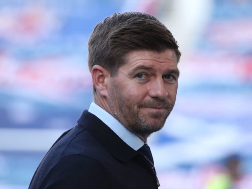 Steven Gerrard has been named the SPFL manager of the year (Andrew Milligan/PA)