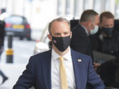 Foreign Secretary Dominic Raab said foreign aid had to be cut due to the coronavirus pandemic (Ian West/PA)