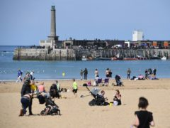 Spring sunshine in Margate (Kirsty O'Connor/PA)