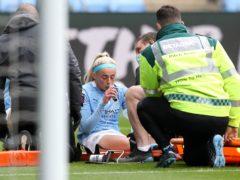 Chloe Kelly's injury overshadowed Manchester City's victory over Birmingham (Martin Rickett/PA)
