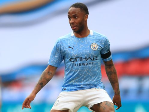 Raheem Sterling believes Manchester City can only trip themselves up now in the Champions League (Adam Davy/PA)