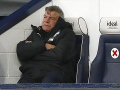 Sam Allardyce admits West Brom need a 'miracle and fairy dust' to stay up (Jason Cairnduff/PA)