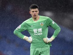 Nick Pope has undergone surgery on his left knee (Peter Powell/PA)