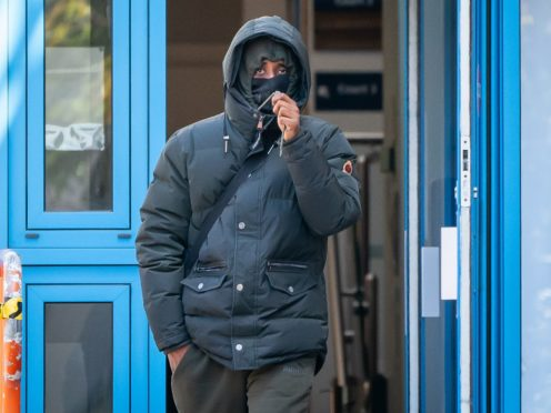Emmanuel Mehari, 27, arrives at Uxbridge Magistrates' Court (Aaron Chown/PA)