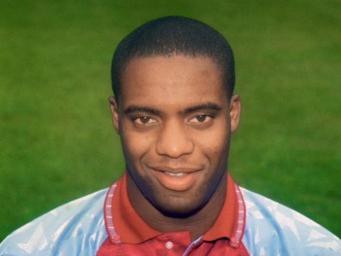 Dalian Atkinson pictured during his time at Aston Villa in the early 1990s (PA)
