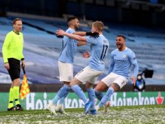 Manchester City are through to the Champions League final for the first time (Martin Rickett/PA)
